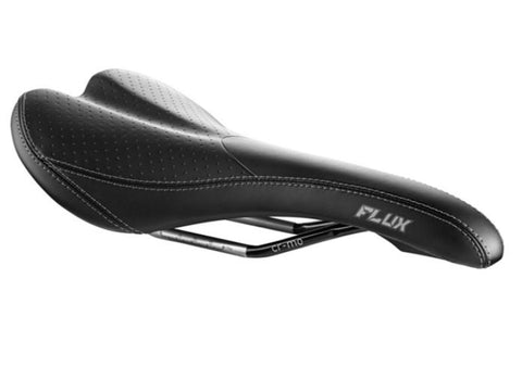 Madison Flux Men's Saddle, Cro-mo Rails, Black
