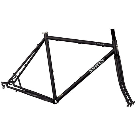 Surly Straggler Frameset - 700c - Closet Black