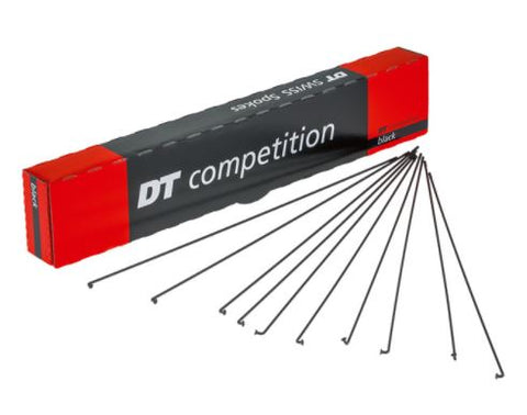 DT Swiss Competition Race 14 / 16 / 14 g = 2 / 1.6 mm - Black 280mm