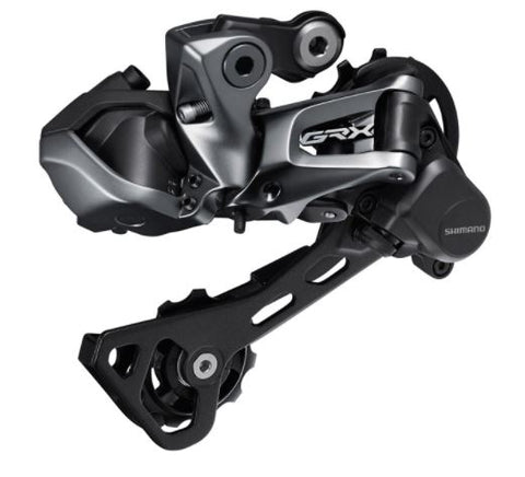 Shimano RD-RX817 GRX Di2, 11-speed rear derailleur, Shadow+, for single