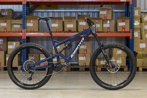 Identiti Mettle II R Complete Bike 2020 - Gloss Night Time Navy