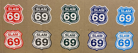 Slam69 Stickers - Route69 V2