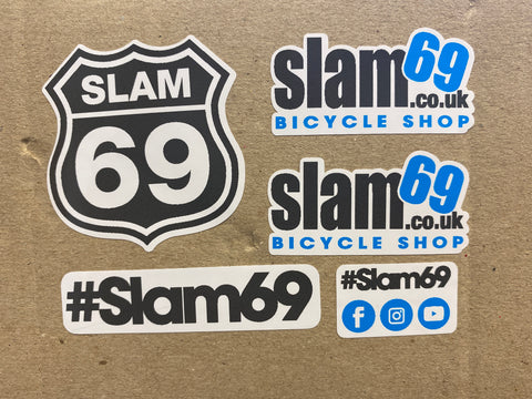 Slam69 Sticker Pack