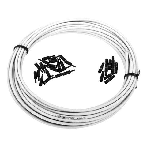 Jagwire Pro Brake Outer Cable 5mm - White (Per Metre)