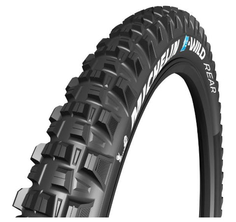"Michelin E-Wild Tyre Rear 29 x 2.60"" Black (66-622)"