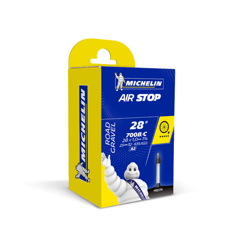 Michelin Airstop Road Inner Tube - 700c x 25-32mm (Presta 40mm)