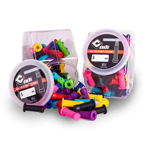 ODI Schrader Dust Caps - Valve Stem Covers (EACH)