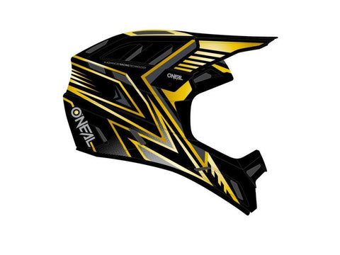 O'Neal Backflip Knox Full Face Helmet Black/Gold (COMING SOON)
