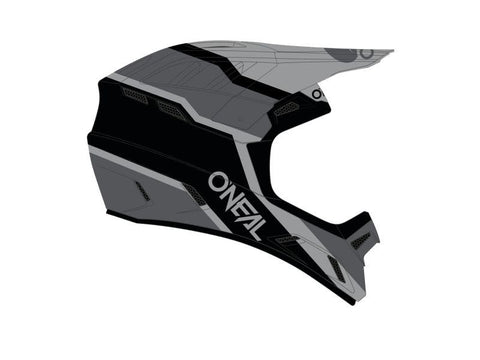 O'Neal Backflip Strike Full Face Helmet Black/Grey (COMING SOON)