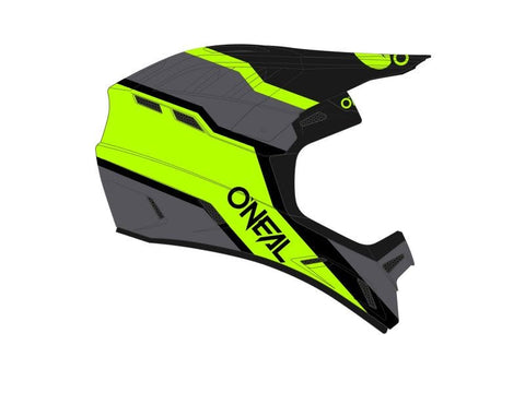 O'Neal Backflip Strike Full Face Helmet Neon Yellow/Black (COMING SOON)