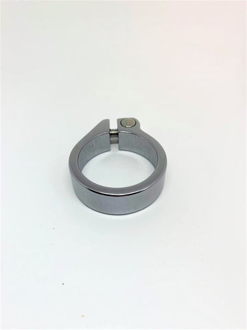 Recycled - Chrome Seat Clamp - Bolted 34.9mm