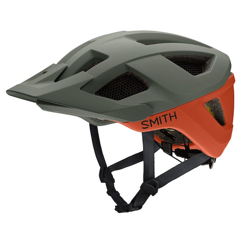 Smith SESSION MIPS Helmet - MATTE SAGE / RED ROCK