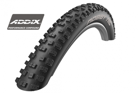 "Schwalbe Nobby Nic 60-584 27.5x2.35"" - Perf, TwinSkin, TLR / Addix Tyre"
