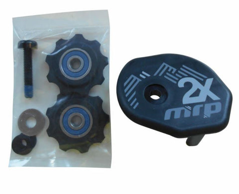 2x Lower Guide Kit, For 2x Guide Chain Device ONLY Inc: Guide plates, pulleys, Hardware