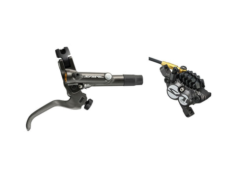 Shimano BR-M820 Saint bled I-spec-B compatible brake with post mount calliper - Front Right
