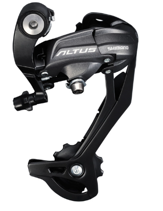 Shimano RD-M370 Altus rear derailleur, 9-speed, SGS, black