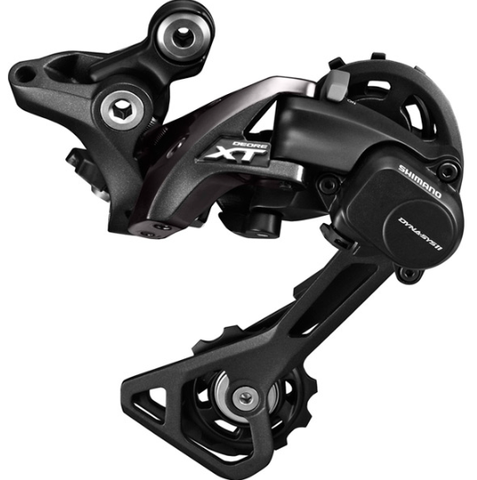 Shimano RD-M8000 XT 11-speed Shadow+ design rear derailleur, GS, black