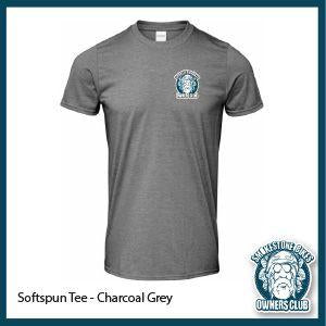 Smokestone Bike Owners Club - Charcoal Grey Softspun Tee