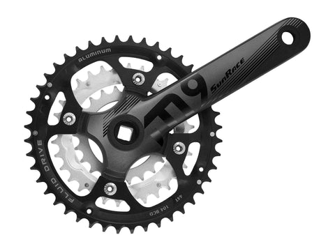 SunRace (FCM194)  M9 9-speed Crank Square 44/32/22 175mm