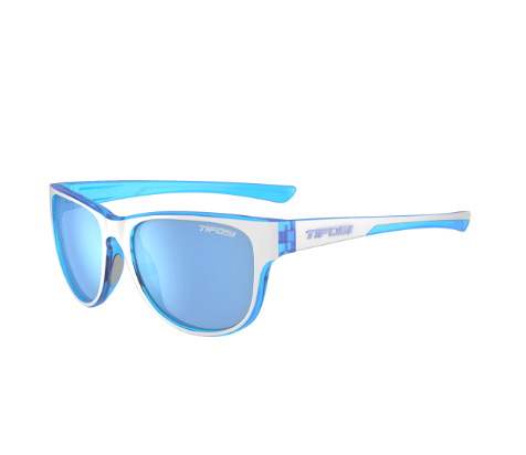 TIFOSI SMOOVE SINGLE LENS EYEWEAR - ICICLE BLUE/NEW BLUE LENS 2019