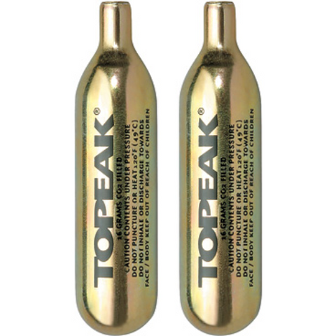 Topeak 16g Non-threaded CO2 Cartridge for Tyre Inflators