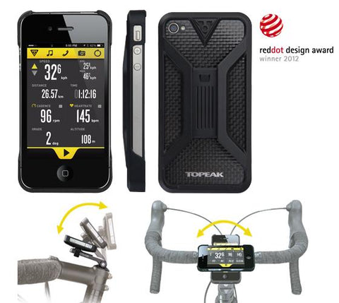 Topeak RideCase - Black - iPhone 4/4S