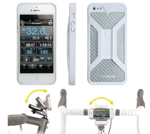 Topeak RideCase iPhone 5 - Handlebar mount phone case