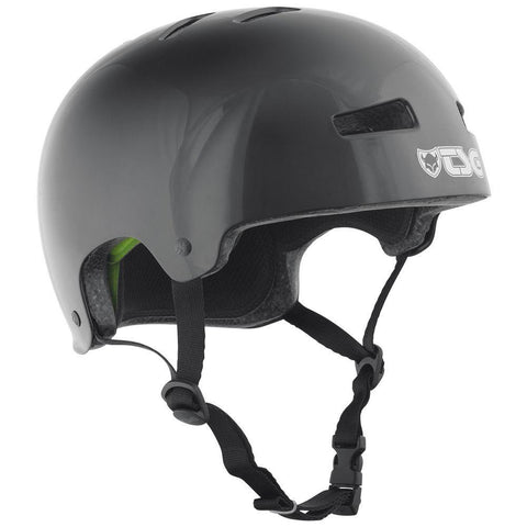 TSG Evolution Helmet - Injected Black, White
