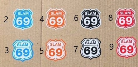 Slam69 Stickers - Route69 V1
