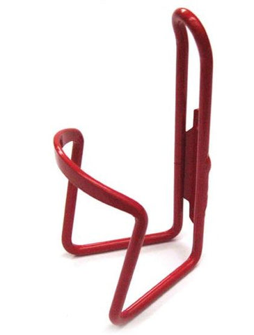 BULK ALLOY BOTTLE CAGE – RED