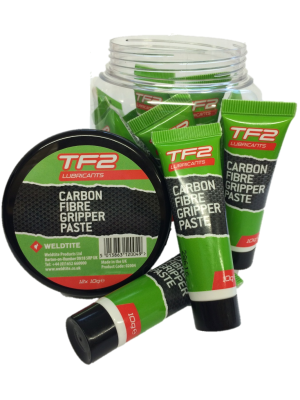 Weldtite TF2 Carbon Fibre Gripper Paste - Assembly Grease - 10g Tube