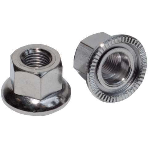 Weldtite Track Nuts/Axle Nuts (Pair)