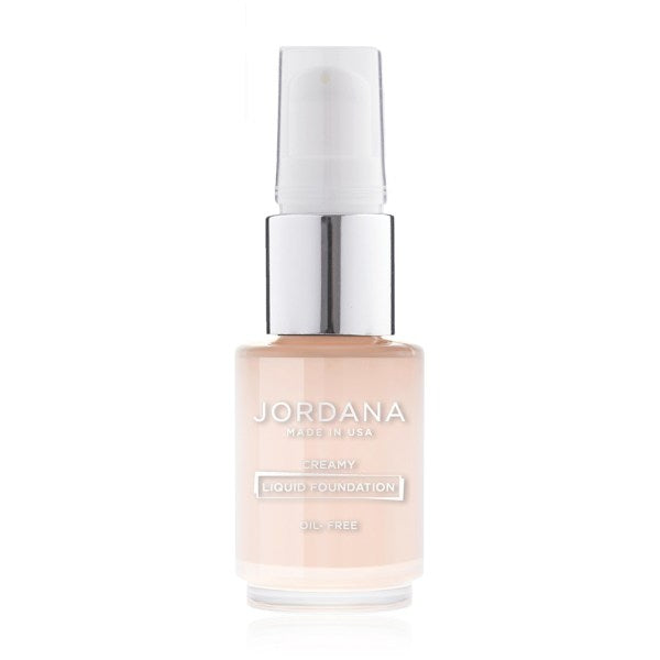 Jordana Oil-Free Creamy Liquid Foundation - W/pump
