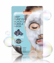 Load image into Gallery viewer, Purederm Deep Purifying Black O2 Bubble Mask