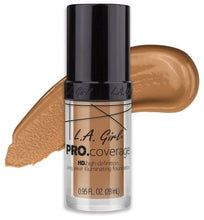 Load image into Gallery viewer, L.A. Girl PRO. Coverage Long Wear Illuminating Foundation