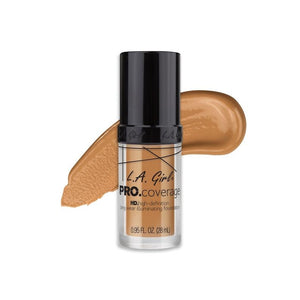 L.A. Girl PRO. Coverage Long Wear Illuminating Foundation