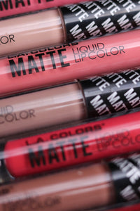 L.A. Colors Matte Liquid Lip Color