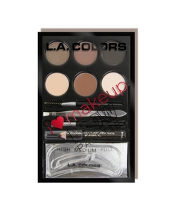 L.A. Colors Brow Palette (Medium-Deep)