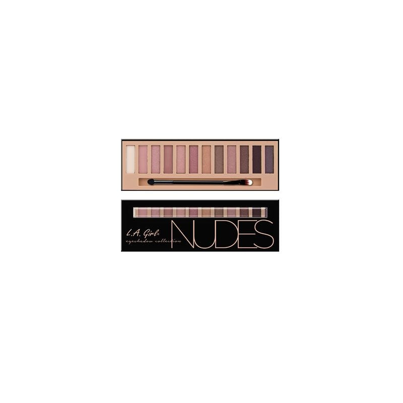 L.A. Girl Nudes Eyeshadow Collection