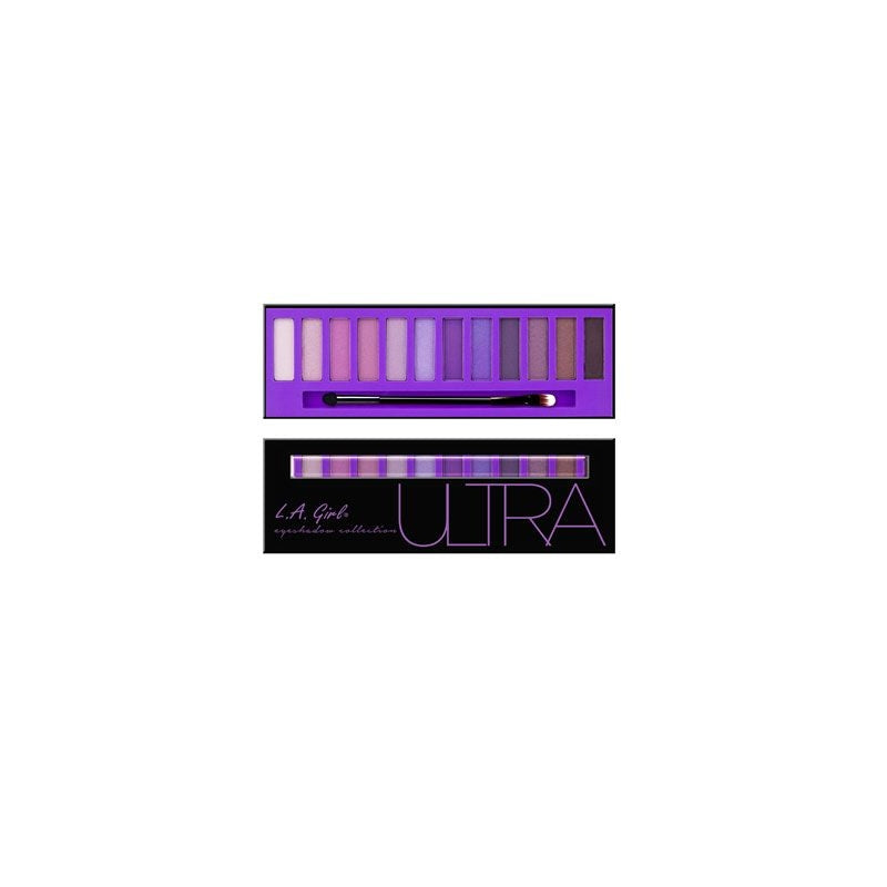 L.A. Girl Ultra Eyeshadow Collection