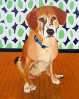 LIMITED TIME ONLY! Commission a Portrait of your Dog for White Dog Cafe Glen Mills