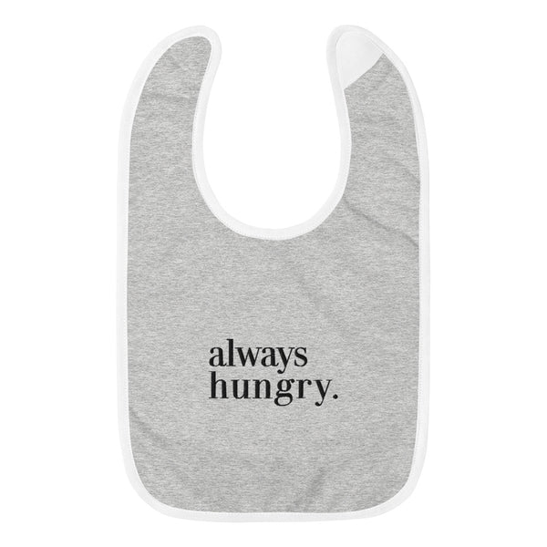 NEW Always Hungry Baby Bib