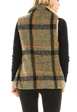 Load image into Gallery viewer, Victoria Sherpa Vest (olive)