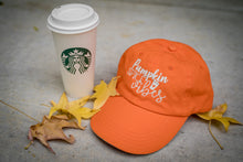 Load image into Gallery viewer, Pumpkin Spice Tangerine Hat