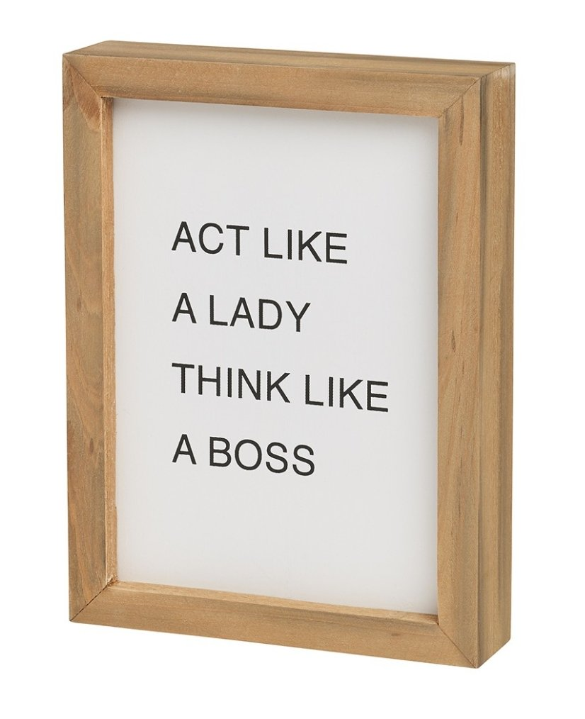 Act Like a Lady Letterboard - Little Red Barn Door