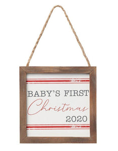 Baby's First Christmas Ornaments - 2020 - Little Red Barn Door