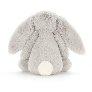 Bashful Grey Bunny (Medium) - Little Red Barn Door