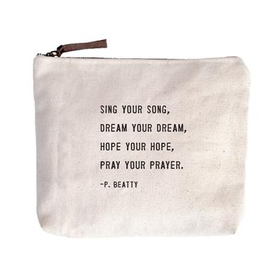 Canvas Bag - Sing Your Song - Little Red Barn Door