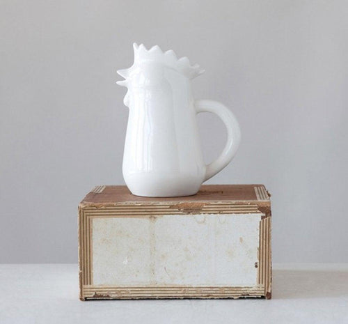 Chicken Creamer - Little Red Barn Door