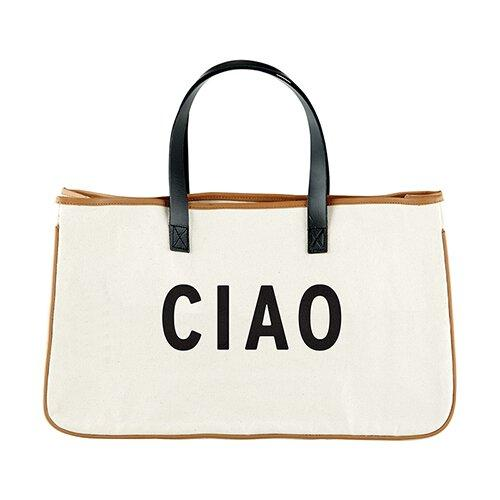 CIAO - Canvas Tote - Little Red Barn Door